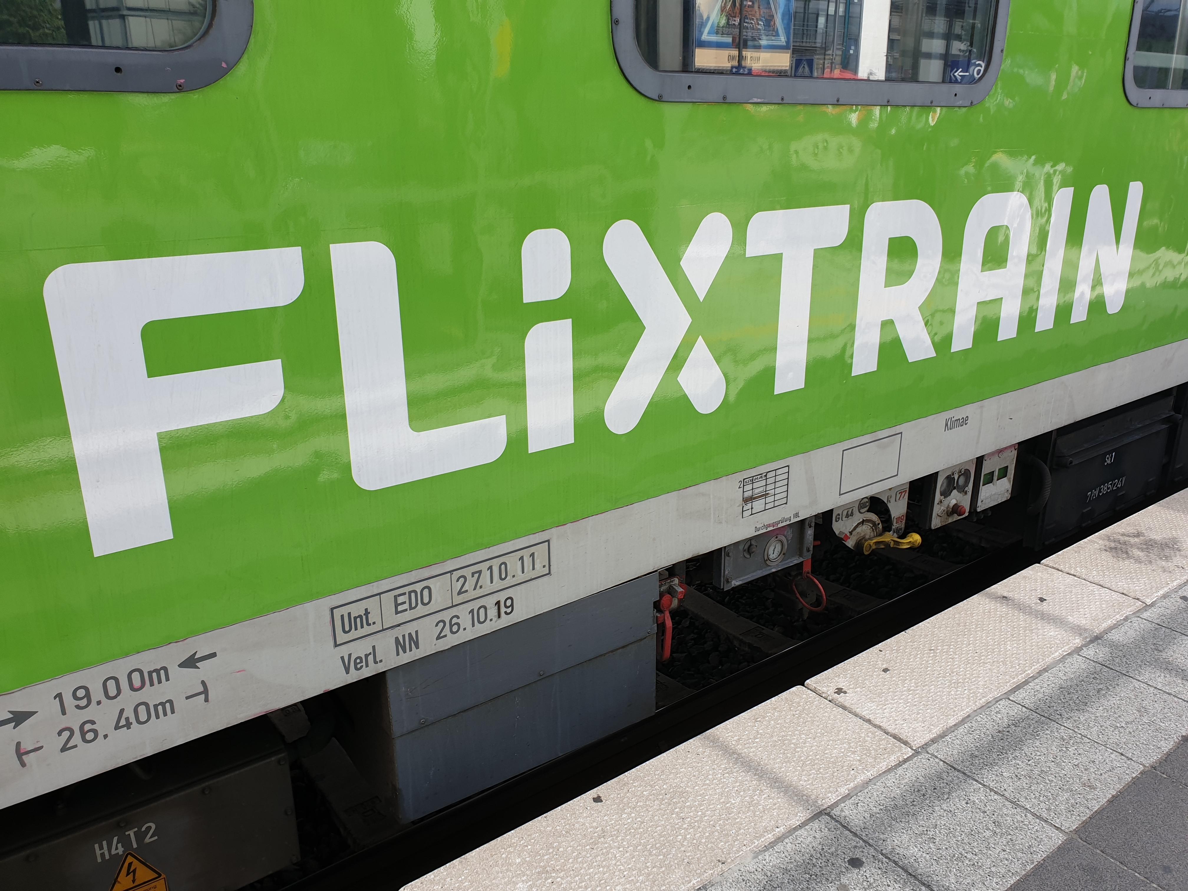 Flixtrain De Duitse Low Cost Trein Met De Trein Naar Het Buitenland